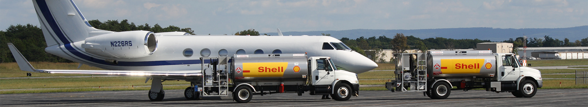 Fuel Trucks fueling a jet